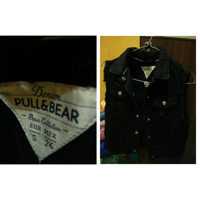 Pull And Bear Black Denim