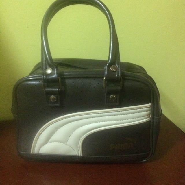 Puma leather handbag