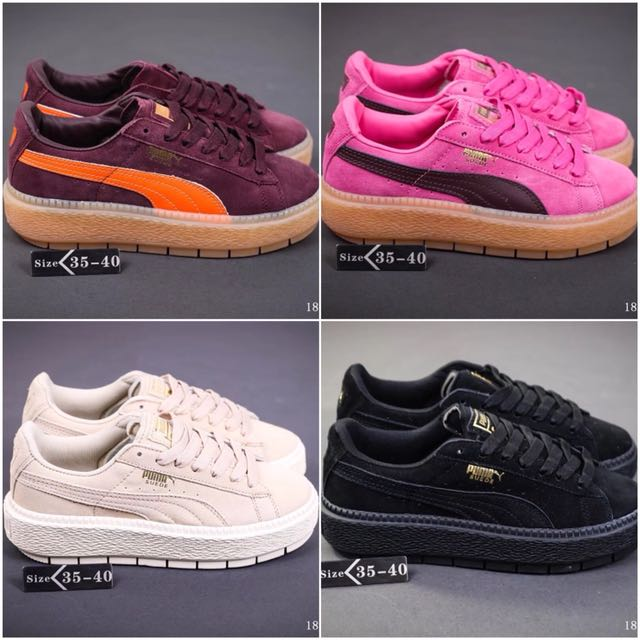 outlet store def56 1d26b Puma Suede Platform Trace, Bulletin Board, Preorders on ...