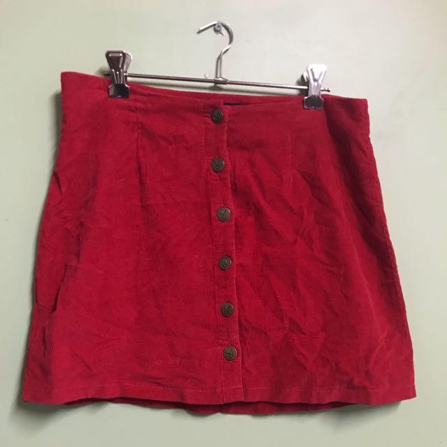 ❣️Red MINKPINK skirt