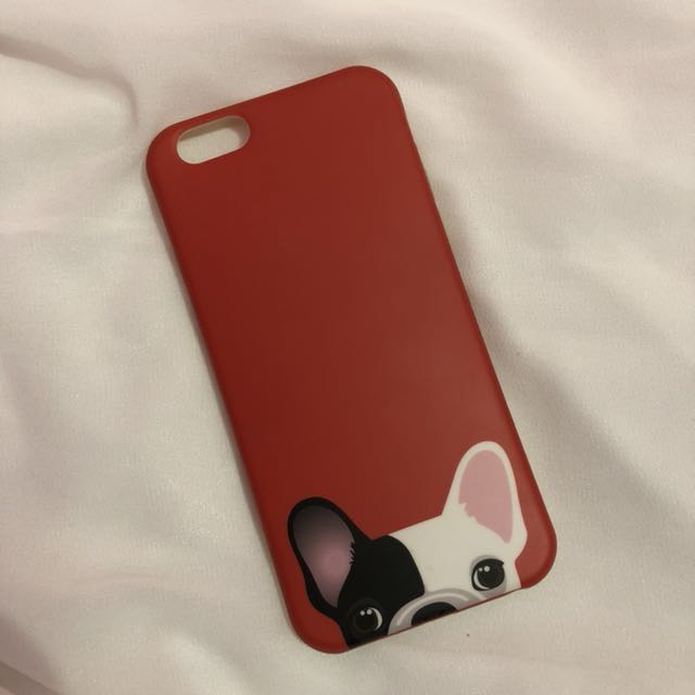 Red Pitt case for iphone 6/6s