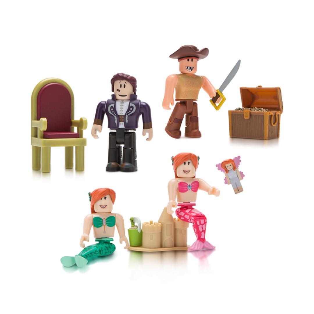 Roblox Neverland Lagoon Toys Games Bricks Figurines On Carousell