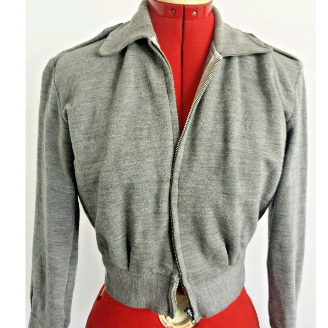 RRP $189 Perfect Condition Womens Fitted Crop Jacket Size 10