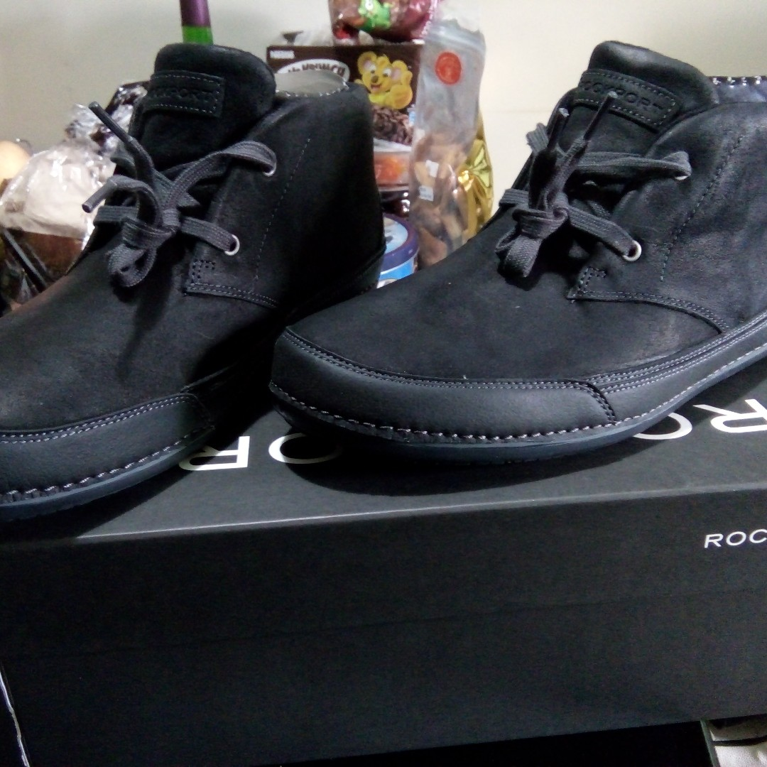 Sale !! ROCKPORT ORIGINAL MEN'S BLACK, SIZE 9.5US