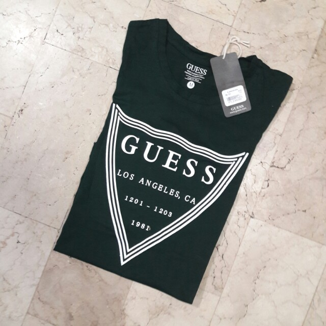 Sale! Authentic quality guess women- black green and maroon shirt