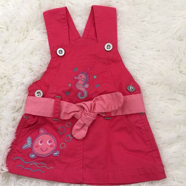 Seahorse Red/Pink Dress
