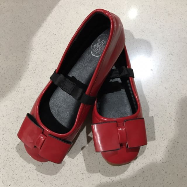 Shoes Red Bow