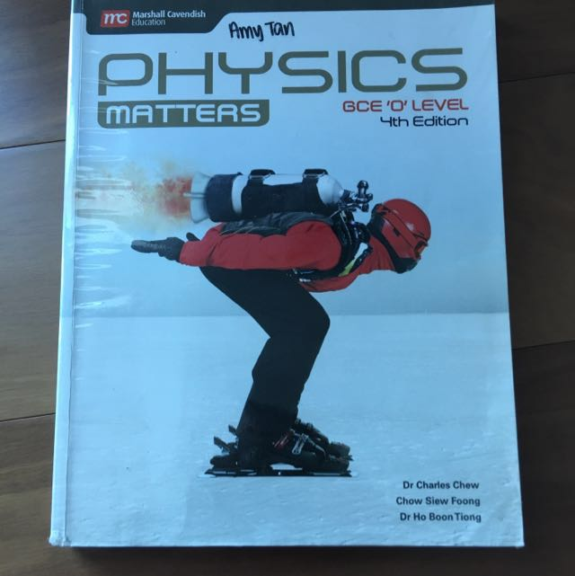 SINGAPORE O LEVEL PHYSICS TEXTBOOK