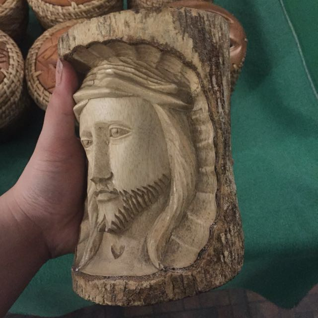 Skillfully Carved Jesus Christ's Face