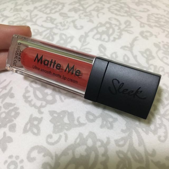 Sleek Matte Me 3ml Rioja Red