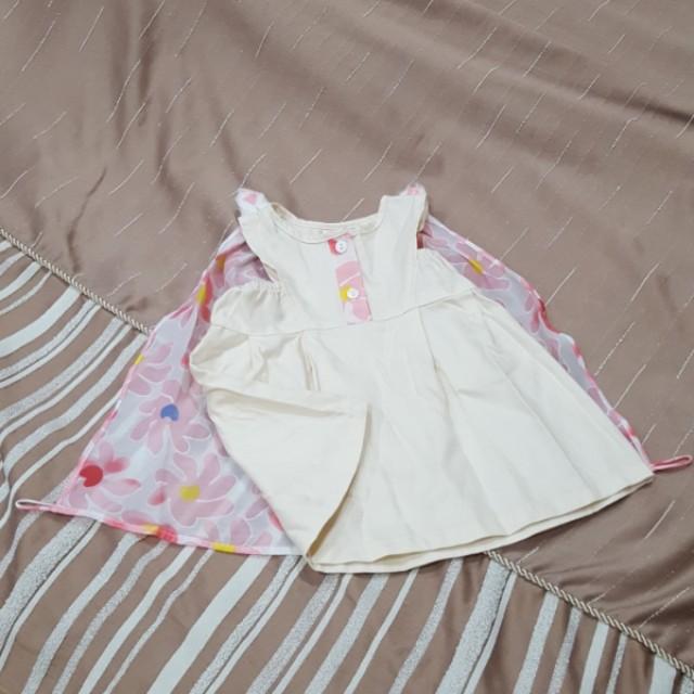 Soure bunny dress Sz 6m-18m