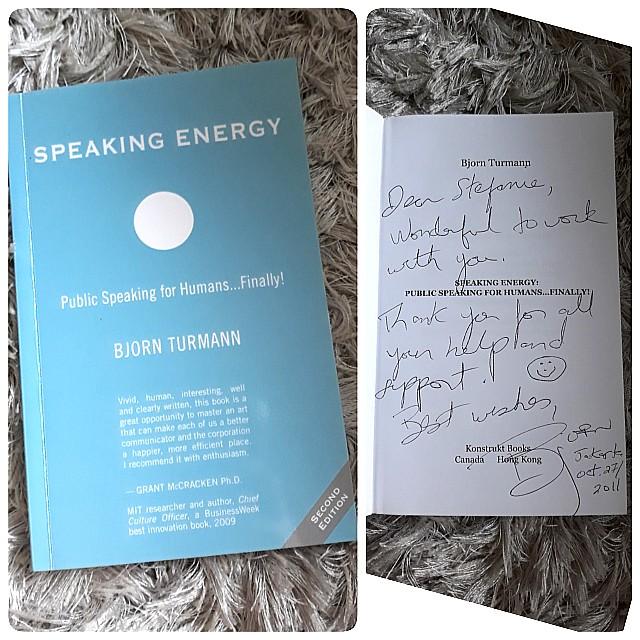 Speaking energy by Bjorn Turnman