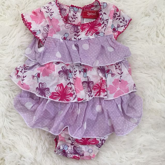 Sprout Pink & Purple Dress