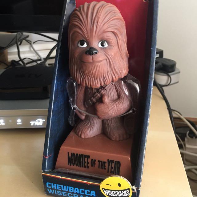 Action- & Spielfiguren Star Wars Chewbacca Bobble-Head