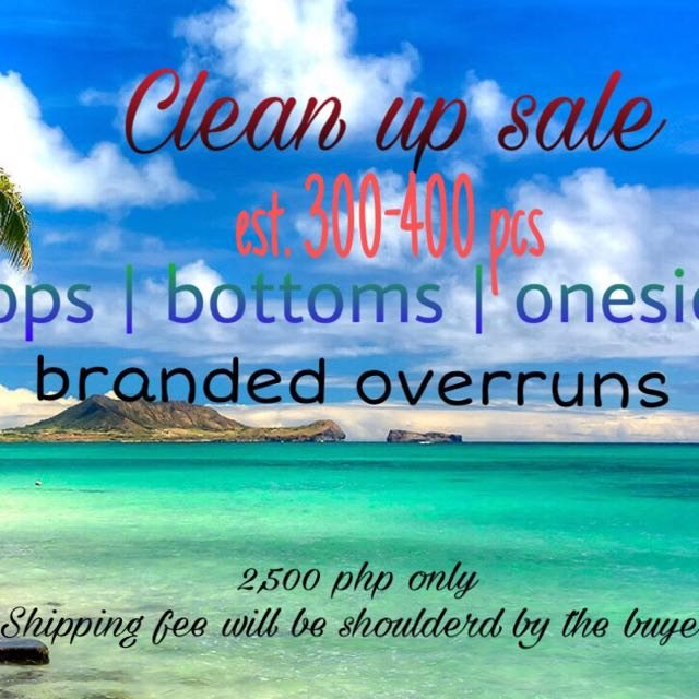 Swimwear clean up sale
