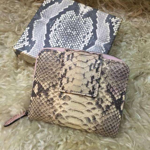 Synthetic Snake skin wallet