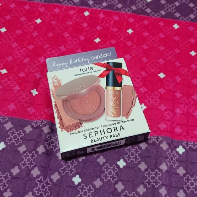 Tarte Blush And Lip Paint Set Sephora Birthday Gift Health