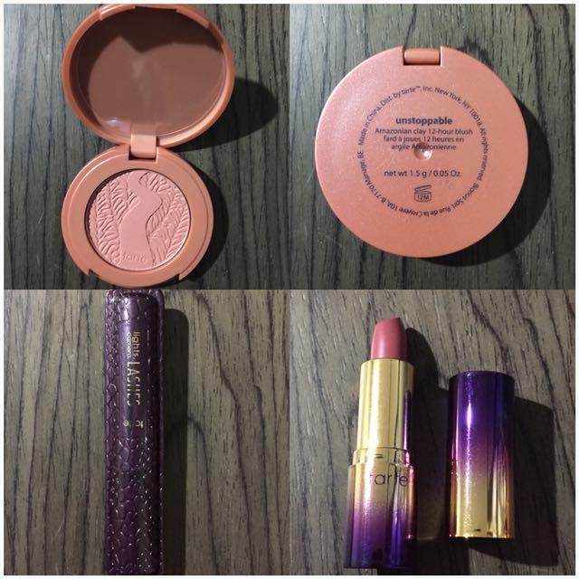 Tarte Makeup deluxe sample bundle