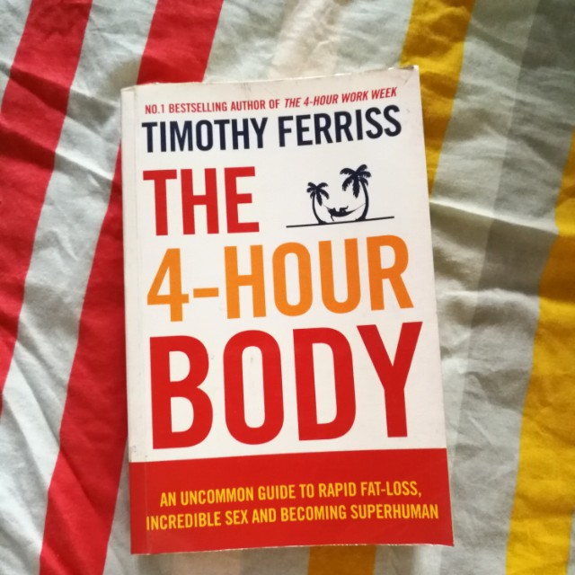 The 4 hour body guide by Timothy Ferriss (FREE POSTAGE)