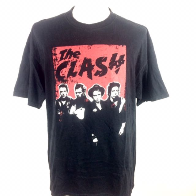 THE CLASH Band Line Up T-Shirt