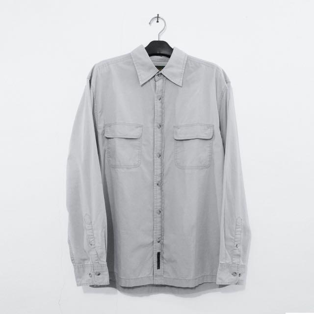 Timberland Long Sleeve Shirt Wash Grey