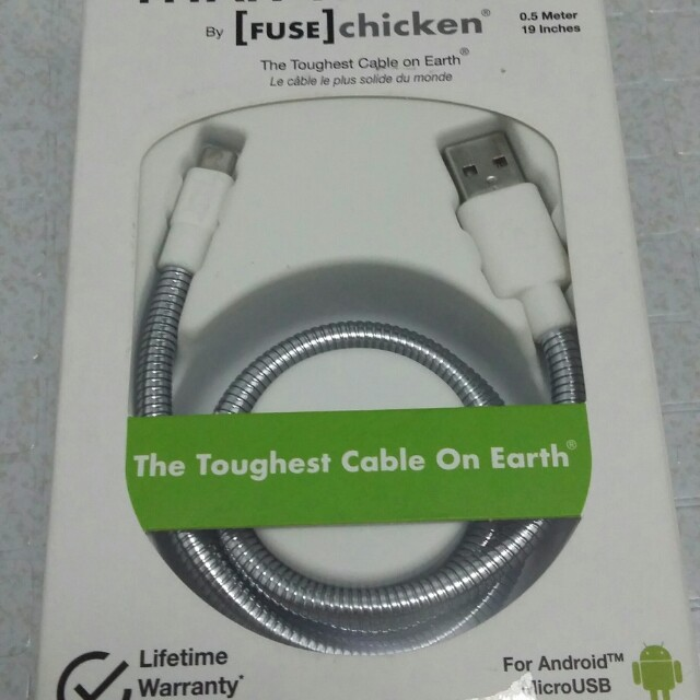 Titan travel fuse chicken USB cord