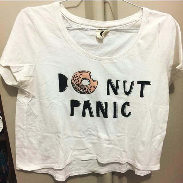 Tshirt donut panic cotton on
