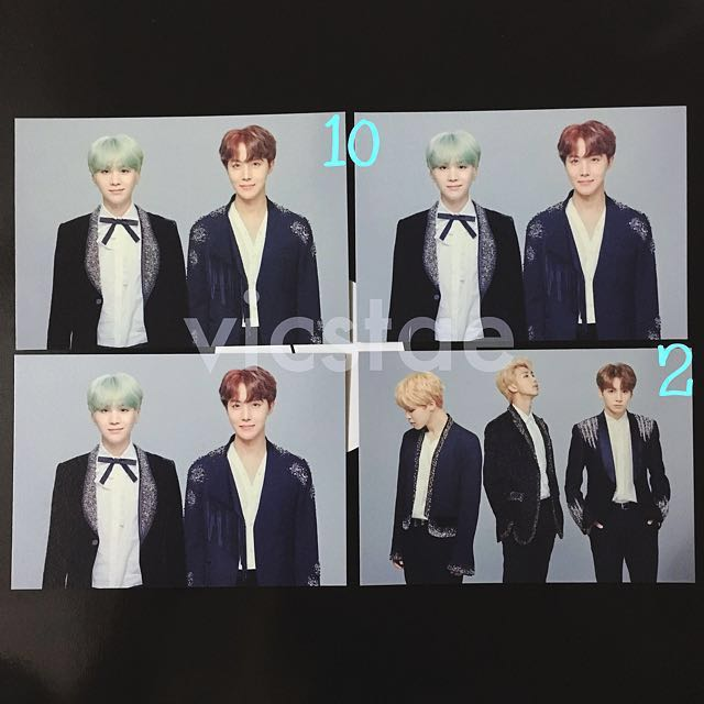 UNIT / MINI PHOTOCARDS / THE WINGS TOUR -THE FINAL- OFFICIAL MD