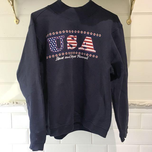 USA retro top