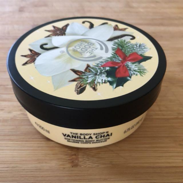 Vanilla chai body butter