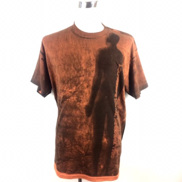 Vtg LOU REED All Over Print Punk Band T-Shirt