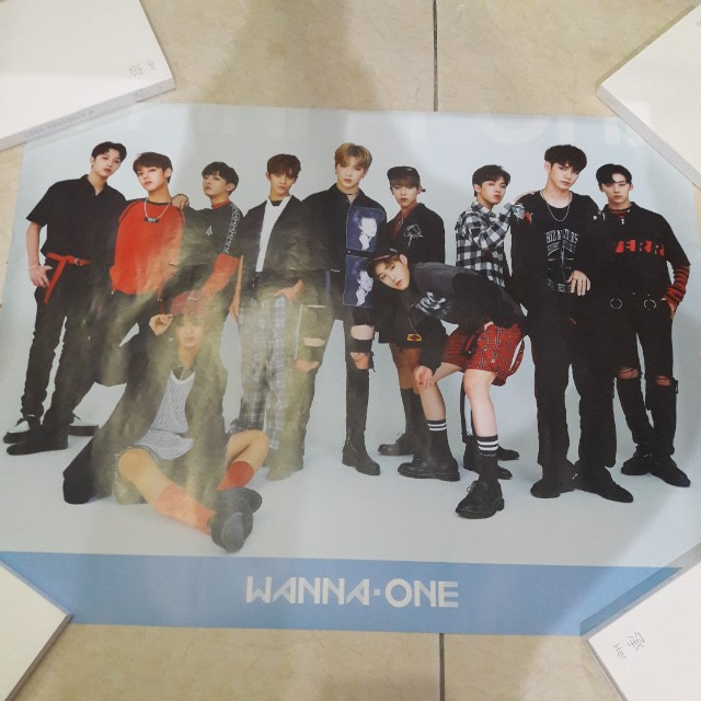 Wannaone To Be One Poster Sky Ver.