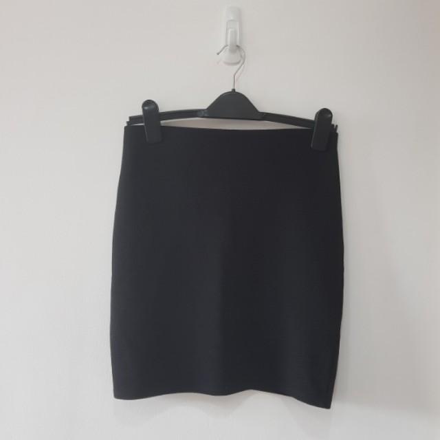 Warehouse Black Skirt
