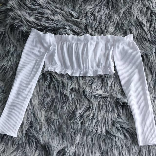 White crop top PRICE REDUCED