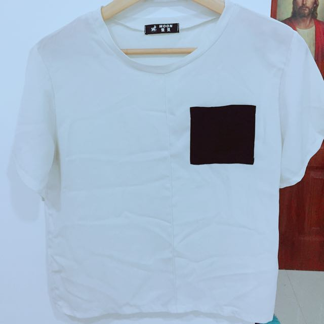White Top with pocket