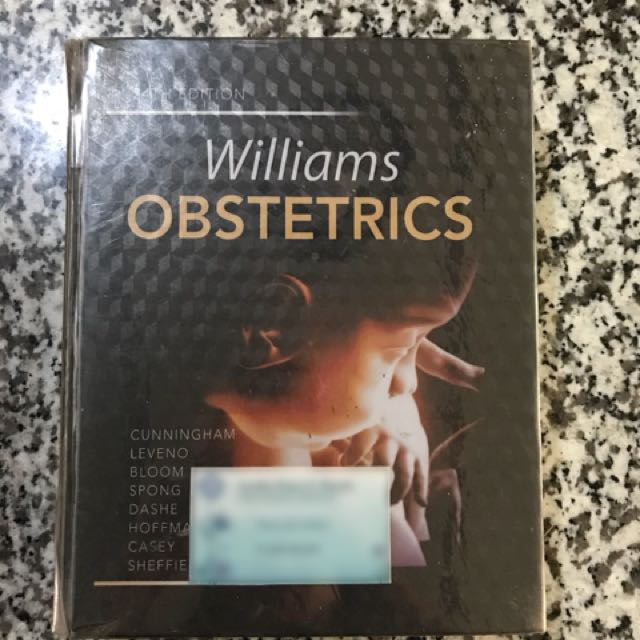 Williams Obstetrics 24th Edition Laser Copy