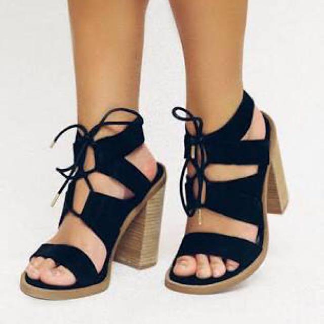 Windsor Smith Tyra Heels (suede)
