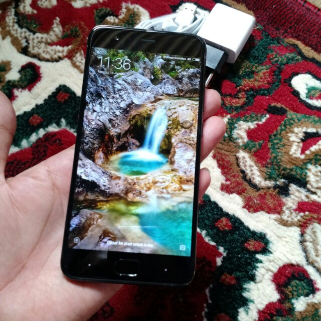 Xiaomi Mi 6 Black 6/128GB Plus Fast Charger Snapdragon 835