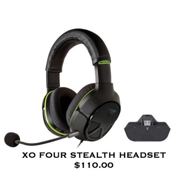 XO Four Stealth XBOX ONE Headset