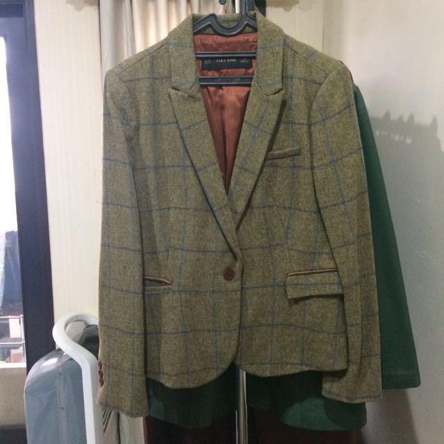Zara Brown Winter Coat