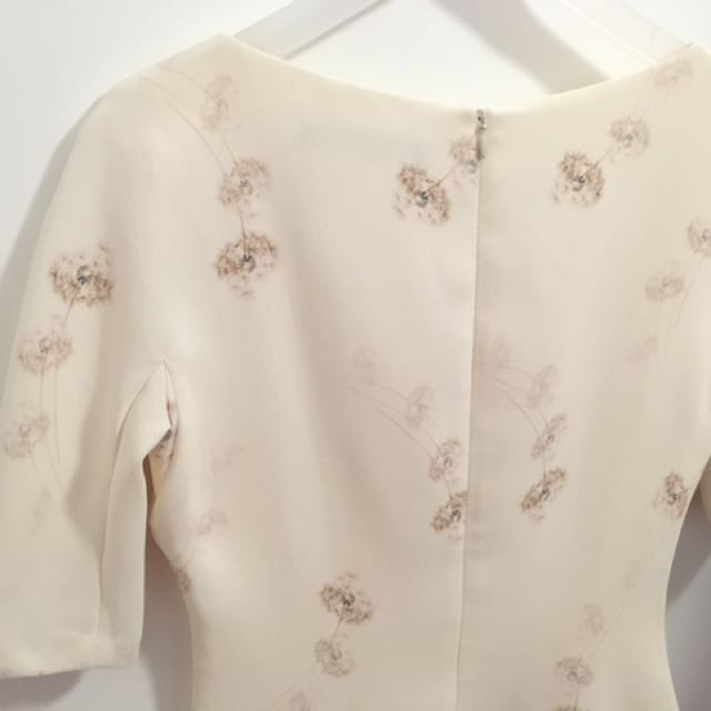 ZARA Dandelion Sheath Dress