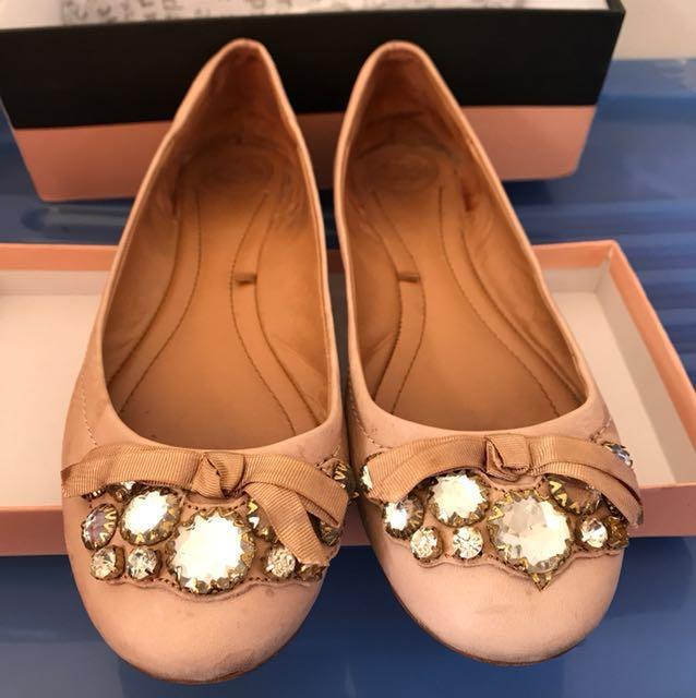 Zara light pink ballet Flat Size 41 rrp80