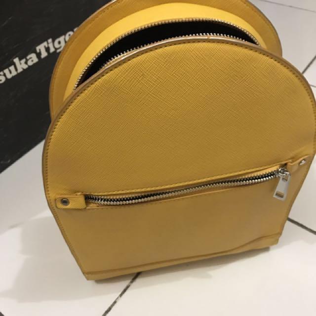 Zara Yellow Bag Pack
