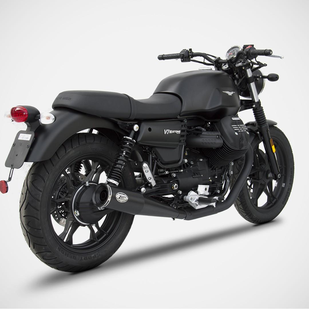 Zard Exhaust Systems Singapore Moto Guzzi V7 III Euro 4