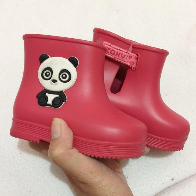 Zaxy panda boots
