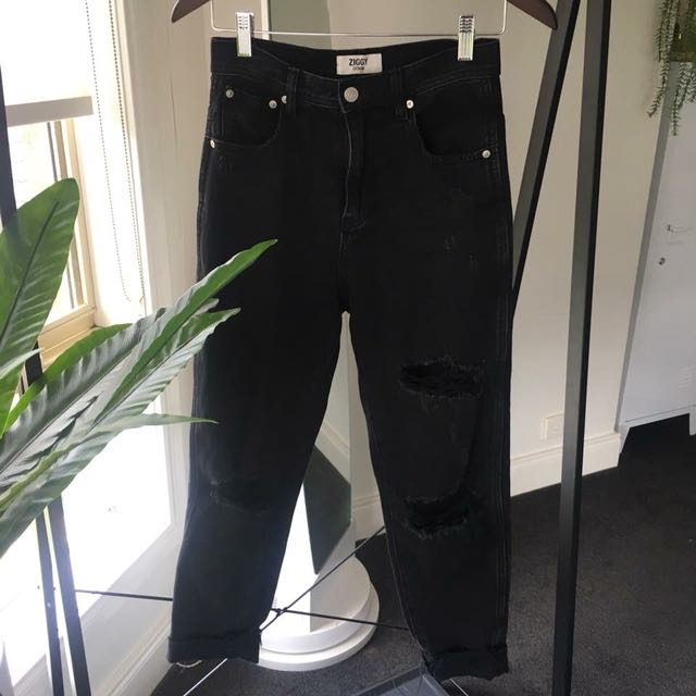 ziggy // ripped black jeans