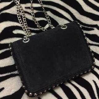 Zara mini leather bag