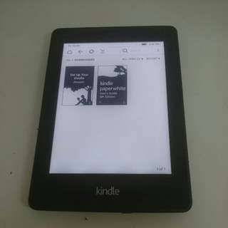 Kindle paper white wifi touchscreen with backlight (buy it now)