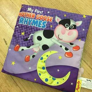 Soft Cloth Book (My First Mother Goose Rhymes)