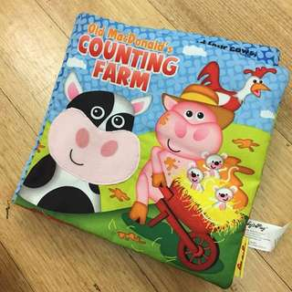 Soft Cloth Book (Old MacDonald's Counting Farm)